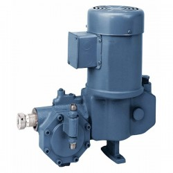 Dover - 515-E-N5 - Neptune 515-E-N5 Hydraulically Actuated Diaphragm Pump, PVC and PTFE Wetted End, 3.0GPH @ 150PSI