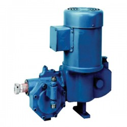 Dover - 532-E-N5 - Neptune 532-E-N5 Hydraulically Actuated Diaphragm Pump, PVC and PTFE Wetted End, 11.0GPH @ 150PSI