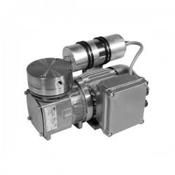 KNF - N143 ST.9E ATEX - KNF N143 ST.9E ATEX ATEX Explosion-Proof Vacuum Pump, SS/PTFE; 0.95cfm/27Hg-58psi/115V