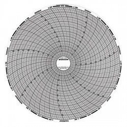 Dickson - 00166157 - Dickson 00166157 Chart Paper for 8 Circular Recorders; 24 hour, 20 to 120, 60 sheets/pk