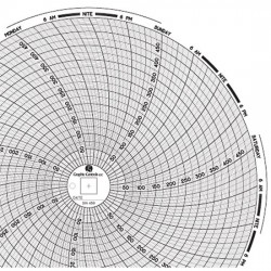 Dickson - 00166256 - Dickson 00166256 Chart Paper for 8 Circular Recorders; 7 day, 0 to 500F/C, 60/pk