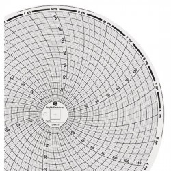 Dickson - 00166165 - Dickson 00166165 Chart Paper, 8, 0 to 150 or 0 to .15, 24 hour, 60/pk