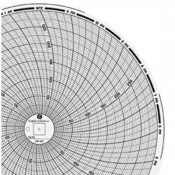 Dickson - 00610089 - Dickson 00610089 Chart Paper, 8, 0 to 300, 24 Hour, 60/pk