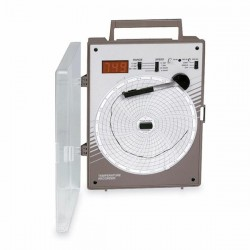 Supco - CR87HT - Supco CR87HT 6 High-Temperature Chart Recorder, Type J, 0-1000 F; 110VAC