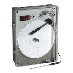 Supco - CR87HT22C - Supco CR87HT220C 6 High-Temperature Chart Recorder, Type J, 0-500 C; 220VAC