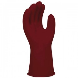 Honeywell - E011R/12 - SALISBURY By Honeywell Size 12 Red 11 Type I Natural Rubber Class 0 Low Voltage Electrical Insulating Linesmen's Gloves With Straight Cuff, ( Pair )