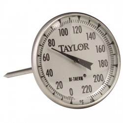 Taylor Precision - 61054J - Taylor 61054J Commercial Series Instant-Read Analog Bimetal Meat Thermometer