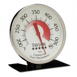 Taylor Precision - 5995N - Taylor 5995N Pro Series Oven / Grill Analog Dial Thermometer with Easy-Read Face