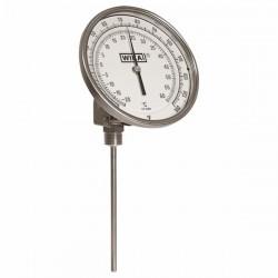 Wika Instruments - 32025D004G4 - Wika 32025D004G4 Ti.32 Any-Angle 3 Dial Bimetal Thermometer , 2.5 L, 0/140 F
