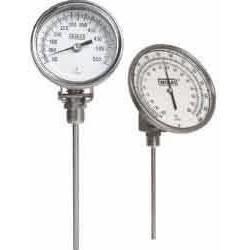 Wika Instruments - 32040D006G4 - Wika 32040D006G4 Ti.32 Any-Angle 3 Dial Bimetal Thermometer , 4 L, 0/250 F