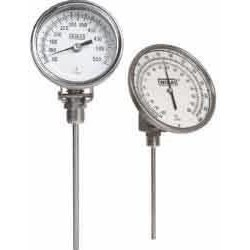 Wika Instruments - 32040D010G4 - Wika 32040D010G4 Ti.32 Any-Angle 3 Dial Bimetal Thermometer , 4 L, 50/500 F