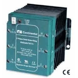 Continental Industries - RVD35V75TL - Continental Industries RVD35V75TL Continental 3-Phase Solid-State Contactors; 575VAC/35A/DC Logic