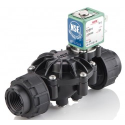 Asco - 8212A039S0100F0 - Asco 8212A039S0100F0 Solenoid Valve, NSF, NC; 3/4 NPT(F), 3/4 Orifice; PPE Body, EPDM Seal; 120VDC