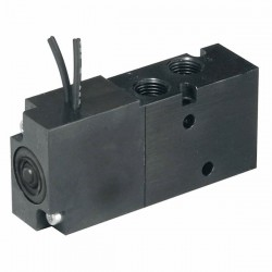 Parker Hannifin - XM40NBG45A - Parker Hannifin XM40NBG45A 2-Position, 4-Way Body Ported Valve; -14.7 to 125psig; 12VDC