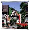 "Da-Lite - 40177 - Da-Lite Model B Manual Wall and Ceiling Projection Screen - 40"" x 40"" - Matte White - 57"" Diagonal"