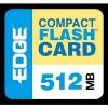 Edge Tech - PE179502 - EDGE Tech 512MB Digital Media CompactFlash Card - 512 MB