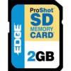 Edge Tech - PE201265 - EDGE Tech 2GB ProShot Secure Digital Card -130x - 2 GB