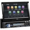 Boss Audio Systems - BV9979B - BOSS AUDIO BV9979B Single-DIN 7 inch Motorized Touchscreen DVD Player, Receiver, Bluetooth, Detachable Front Panel, Wireless Remote - Plays | CD?R/RW, DVD?R/RW, MP3/DVD/CD/USB/SD