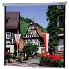 "Da-Lite - 40184 - Da-Lite Model B Manual Wall and Ceiling Projection Screen - 60"" x 60"" - Matte White - 85"" Diagonal"