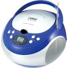 Naxa - NPB251BL - Naxa Portable CD Player with AM/FM Stereo Radio - 1 x Disc Integrated Stereo Speaker - Blue LED - 19 Programable Tracks - CD-DA - Auxiliary Input