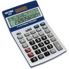 Victor Technology - 9800 - Victor Easy Check Two-Line Calculator - Extra Large Display, Tilt Display, Automatic Power Down, 3-Key Memory, Dual Power, Plastic Key, Battery Backup, Easy-to-read Display - 2 Line(s) - 12 Digits - LCD - Battery/Solar Powered -