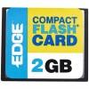 Edge Tech - PE194529 - EDGE Tech 2GB Digital Media CompactFlash Card - 2 GB