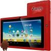 """Zeepad - 7DRK-Q-RED - Zeepad 7DRK-Q 4 GB Tablet - 7"""" - Wireless LAN - Allwinner Cortex A7 A33 Quad-core (4 Core) 1.80 GHz - Red - 512 MB DDR3 SDRAM RAM - Android 4.4 KitKat - Slate - 800 x 480 Multi-touch Screen 5:3 Display - Bluetooth - 1 x Total USB"""
