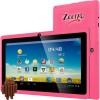"""Zeepad - 7DRK-Q-PINK - Zeepad 7DRK-Q 4 GB Tablet - 7"""" - Wireless LAN - Allwinner Cortex A7 A33 Quad-core (4 Core) 1.80 GHz - Pink - 512 MB DDR3 SDRAM RAM - Android 4.4 KitKat - Slate - 800 x 480 Multi-touch Screen 5:3 Display - Bluetooth - 1 x Total USB"""