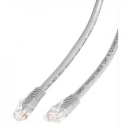 StarTech - C6PATCH5GR - StarTech.com 5 ft Gray Molded Cat6 UTP Patch Cable - ETL Verified - Category 6 - 5 ft - 1 x RJ-45 Male - 1 x RJ-45 Male - Gray