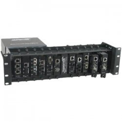 Transition Networks - E-MCR-05-NA - Transition Networks E-MCR-05 12-slot Media Converter Rack