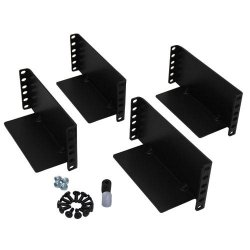 Tripp Lite - 2POSTRMKITHD - Tripp Lite 2-Post Rackmount Installation Kit for 3U and Larger UPS, Transformer and BatteryPack Components - 3U Wide - Black