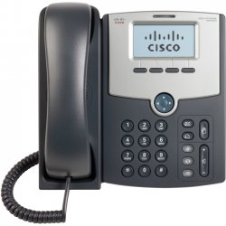 Cisco - SPA502G-RC - Cisco SPA502G IP Phone - Cable - Wall Mountable - Silver, Dark Gray - 1 x Total Line - VoIP - Caller ID - Speakerphone - 2 x Network (RJ-45) - PoE Ports - Monochrome