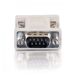 C2G (Cables To Go) - 02770 - C2G DB9 Male to DB9 Female Port Saver Adapter - 1 x DB-9 Female - 1 x DB-9 Male - Beige