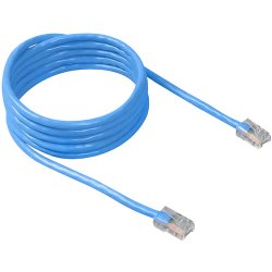 Belkin / Linksys - TAA980-03-BLU-S - Cable, Cat6, Utp, Rj45m/m, 3 Feet , Blu, Patch, Snagless, Taa