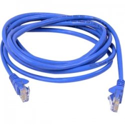 Belkin / Linksys - TAA980-14-BLU-S - Belkin - Patch cable - RJ-45 (M) to RJ-45 (M) - 14 ft - UTP - CAT 6 - snagless, stranded - blue