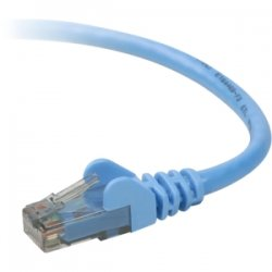 Belkin / Linksys - TAA980-50-BLU-S - Belkin Cat.6 UTP Patch Cable - RJ-45 Male Network - RJ-45 Male Network - 50ft - Blue