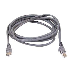 Belkin / Linksys - TAA980-50-GRY-S - Belkin Cat.6 UTP Patch Cable - RJ-45 Male Network - RJ-45 Male Network - 50ft - Gray