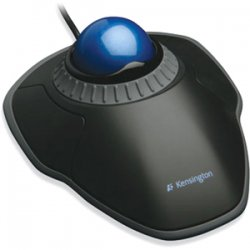 Kensington - K72337US - Kensington Orbit 72337 Trackball with Scroll Ring - Optical - USB - Black - Pack of 1