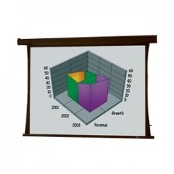 Draper - 101783 - Draper Premier 101783 Electric Projection Screen - 226 - 16:10 - Ceiling Mount - 120 x 192 - Pearl White CH1900V