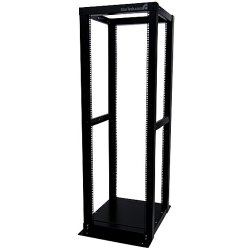 StarTech - 4POSTRACK36 - StarTech.com 36U Adjustable 4 Post Server Equipment Open Frame Rack Cabinet - 36U