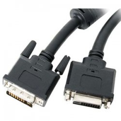 StarTech - DVIDDMF15 - StarTech.com 15 ft DVI-D Dual Link Monitor Extension Cable - M/F - DVI-D Male Video - DVI-D Female Video - 15ft - Black
