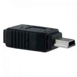 StarTech - UUSBMUSBFM - StarTech.com Micro USB to Mini USB 2.0 Adapter F/M - PVC