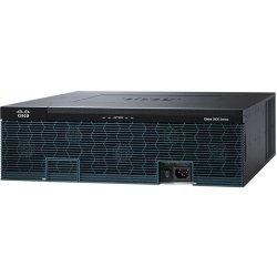 Cisco - C3925E-VSEC/K9 - Cisco 3925E Integrated Services Router - 4 Ports - Management Port - PoE Ports - 11 Slots - Gigabit Ethernet - 3U - Rack-mountable
