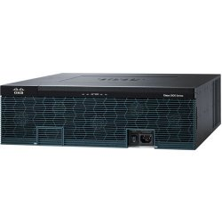 Cisco - C3945E-VSEC/K9 - Cisco 3945E Integrated Services Router - 4 Ports - Management Port - PoE Ports - 13 Slots - Gigabit Ethernet - 3U - Rack-mountable