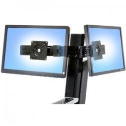 Ergotron - 97-583-009 - Ergotron 97-583-009 Crossbar for Flat Panel Display - 24 Screen Support - 28 lb Load Capacity - Black