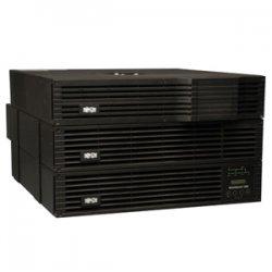Tripp Lite - SU5000RT4UTF - Tripp Lite UPS Smart Online 5000VA 4500W Rackmount 5kVA 208V/120V USB DB9 6URM - 3.50 Minute Full Load - 11 Minute Half Load - 5 kVA / 4.50 kW - SNMP Manageable