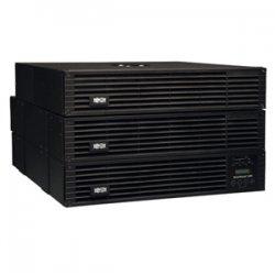 Tripp Lite - SU6000RT4UTF - Tripp Lite UPS Smart Online 6000VA 5400W Rackmount 6kVA 208/240/120V USB DB9 Manual Bypass Hot Swap 6URM - 6000 VA/5400 W - 240 V AC, 240 V AC - 2 Minute - 6U Rack-mountable - 2 Minute - 8 x NEMA 5-15R, 2 x NEMA 5-15/20R, 4 x