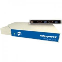 Digi International - 301-1000-12 - Digi Edgeport/2i 2 RS-422/485 serial DB-9 Serial Hub - 2 x 9-pin DB-9 RS-422/485 Serial