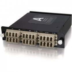 C2G (Cables To Go) - 39132 - C2G Q-Series 24-Strand MTP-LC Multimode 50/125 Module - 24 x MTP - 24 Port(s) - 24 x RJ-11 - 24 x MT Port(s)