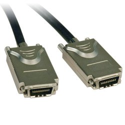 Tripp Lite - S522-02M - Tripp Lite 2m External SAS Cable 4-Lane 4xInfiniband to 4xInfiniband 6ft 6' - 2M (6-ft.)